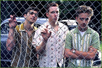 Liberty Heights Evan Neumann, Gerry Rosenthal and Ben Foster in Warner Brothers'  - 11/99