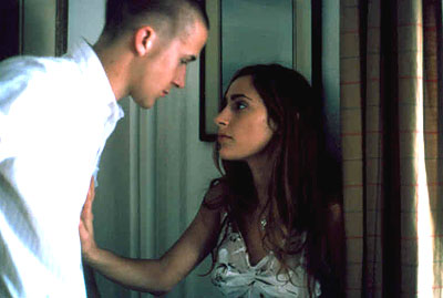 Summer Phoenix Ryan Gosling and  in IDP's The Believer - 2002