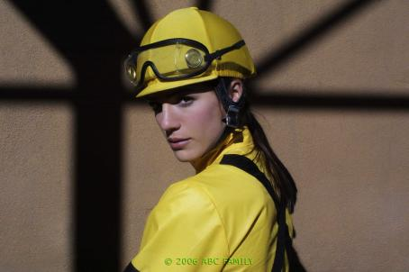 Genevieve Padalecki WILDFIRE -  'Break Down' - Kris is torn riding Picaro against Wildfire, and loses faith in her ability to ride when there is a pile-up during the race.  Junior bets the club, 'winner take all' with Bobby the bookie and Matt accuses Dani of