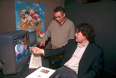 Rugrats in Paris: The Movie Directors Paul Demeyer and Stig Bergqvist in Paramount's Rugrats in Paris - The Movie - 2000