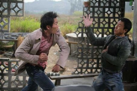 Collin Chou as Tony and Donnie Yen as Det. Ma Jun in Flash Point.