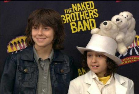 Alex Wolff Nat (Nat Wolff) with Alex () in Nickelodeon Network 'The Naked Brothers Band.'