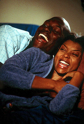 Baby Boy Tyrese Gibson and Taraji P. Henson in Columbia's  - 2001