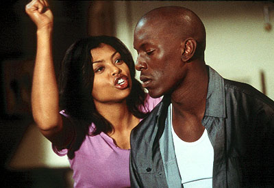 Baby Boy Taraji P. Henson and Tyrese Gibson in Columbia's  - 2001