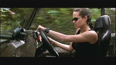 Lara Croft Angelina Jolie as  in Paramount's : Tomb Raider directed by Simon West - 2001