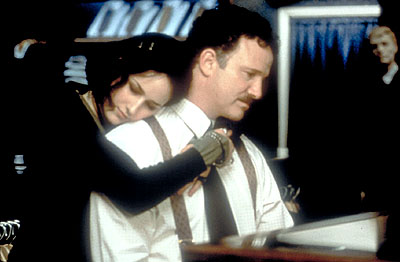 Albert Brooks Leelee Sobieski and  in Paramount Classics' My First Mister - 2001
