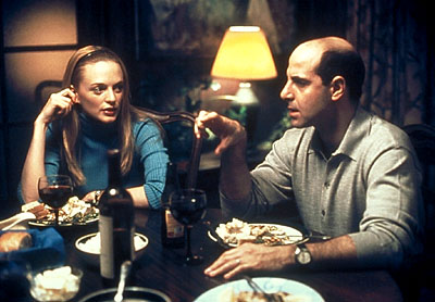 Stanley Tucci Heather Graham and  in Paramount Classics' Sidewalks of New York - 2001