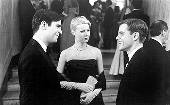 Jack Davenport , Gwyneth Paltrow and Matt Damon in The Talented Mr. Ripley - 12/99