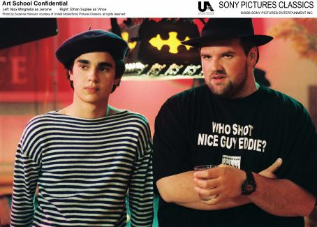 Ethan Suplee Left: Max Minghellas as Jerome; Right: . Photo by Suzanne Hanover, courtesy of United Artist/Sony Pictures Classics, all rights reserved