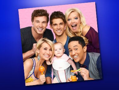 Tahj Mowry ABC Family may have a new hit show on their hands with their new comedy, Baby Daddy, starring Jean-Luc Bilodeau, Chelsea Kane, and !