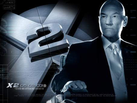 Patrick Stewart 20th Century Fox's X2 - 2003 (Professor X)