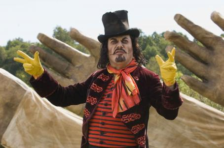 Eddie Izzard  (pictured) as Mr. Kite in Revolution Studios' Across the Universe.