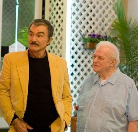 Charles Durning Burt Reynolds and  in the scene of comedy drama 'DEAL.'