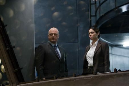 Michael Chiklis  with Rosario Dawson in drama thriller 'Eagle Eye.' Photo Credit: Ralph Nelson SMPSP. TM & ©2008 DreamWorks LLC and Paramount Pictures.  All Rights Reserved.