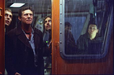 Ghost Ship Demond Harrington, Gabriel Byrne, and Karl Uban in Warner Brothers'  - 2002