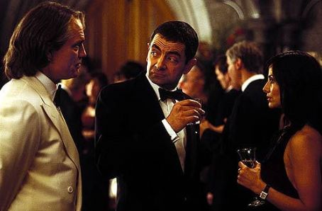 Johnny English Rowan Atkinson in Universal's  - 2003