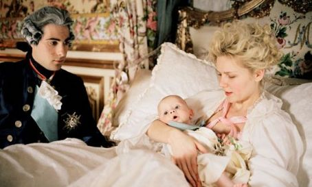Jason Schwartzman  star as Louis XVI and Kirsten Dunst as Marie-Antoinette in Marie Antoinette - 2006