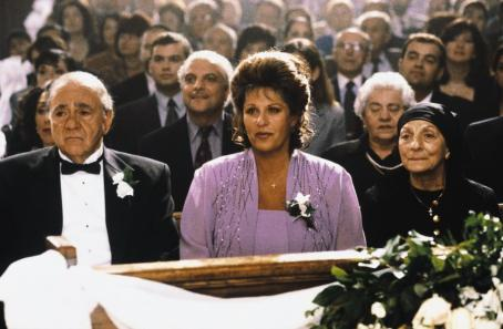 Lainie Kazan Michael Constantine and  in IFC's My Big Fat Greek Wedding - 2002