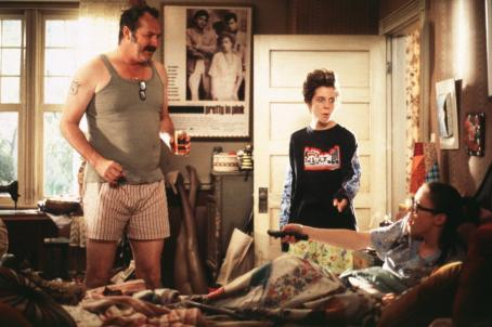 Randy Quaid , Cody McMains and Chyler Leigh in Columbia's Not Another Teen Movie - 2001