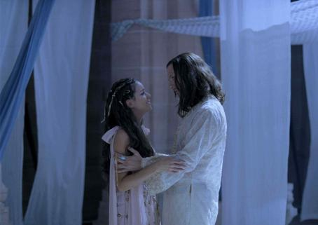 Xerxes Queen Esther and King  played by Tiffany Dupont and Luke Goss in One Night with the King - 2006.