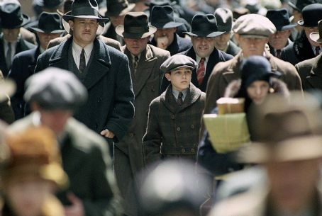 Tyler Hoechlin Tom Hanks and  in Dreamworks' Road To Perdition - 2002