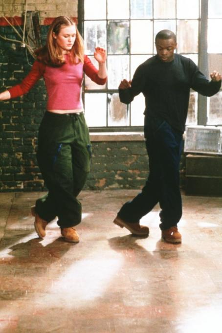 Sean Patrick Thomas Julia Stiles as Sara and  as Derek in Paramount's Save The Last Dance - 2001