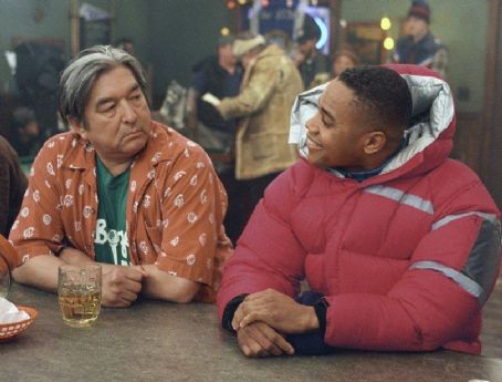 Graham Greene  and Cuba Gooding Jr. in Disney's Snow Dogs - 2002