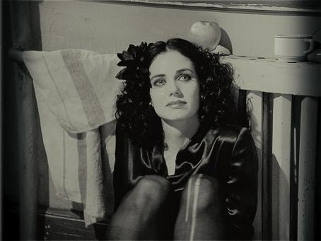 The Black Dahlia Mia Kirshner as Elizabeth Short in Brian De Palma movie,  - 2006