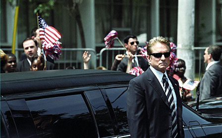 The Sentinel Michael Douglas stars as Agent Pete Garrison in , a 2006 crime movie from 20th Century Fox