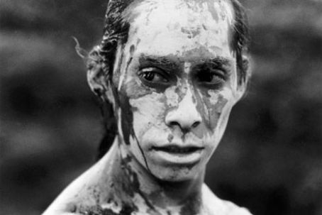 Damián Delgado - Topiltzin the hero, the warrior, the mud-man, the tlahcuilo (sacred scribe/painter), the unrecognized symbol of a nation. What is he thinking of? No one knows, not even Damian (I asked him).