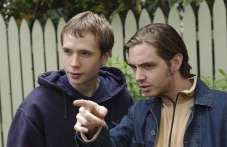 Aaron Stanford Mark Webber and  as Pete and Gabe Winters, brothers coming of age together in Paramount Classics WINTER SOLSTICE; written and directed by Josh Sternfeld.