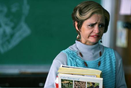 Amy Sedaris  as Geraldine 'Jerri' Antonia Blank in Director Paul Dinello Comedy, Strangers with Candy - 2006