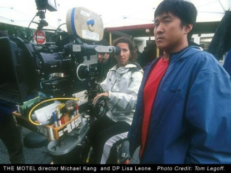 The Motel  director Michael Kang and DP Lisa Leone. Photo Credit: Tom Legoff.