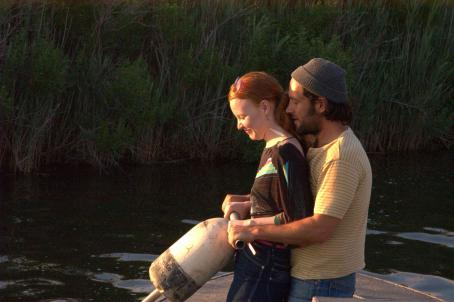 Lauren Ambrose  and Paul Rudd in DIGGERS, a Magnolia Pictures Release. Photo courtesy of Magnolia Pictures.