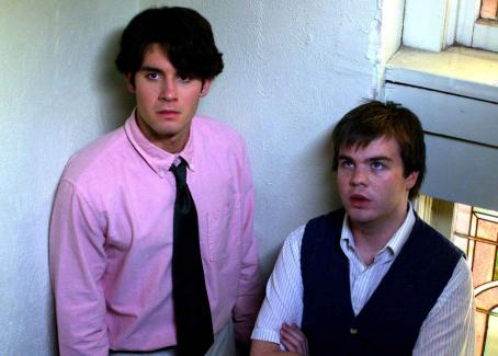 Fat Girls Evan Miller (Ted) and Ash Christian (Rodney) in  - 2007