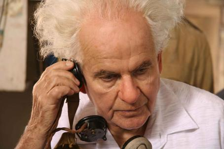 Ian Holm  as Ben Gurion in O JERUSALEM. Copyright © 2006 Samuel Goldwyn Films. All rights reserved.