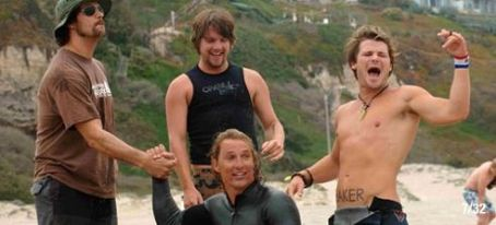 Zachary Knighton Scene of Surfer, Dude.