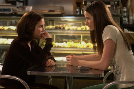 Katherine Waterston Lauren Birkell as Melissa and  as Shirley in The Babysitters.