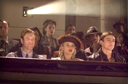 The Black Dahlia Aaron Eckhart, Scarlett Johansson and Josh Hartnett in Universal Pictures misteries,  - 2006
