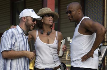 John Singleton Writer/Director Craig Brewer, Producer Stephanie Allain, Producer ; Photo By: Alan Spearman.