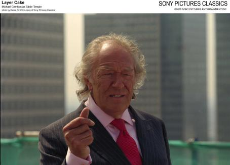 Michael Gambon  as Eddie Temple; Photo by Daniel Smith/courtesy  of Sony Pictures Classics.
