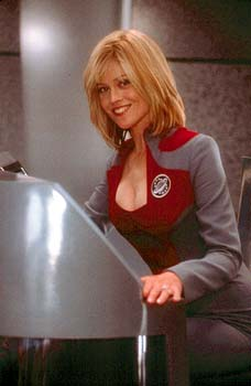 Gwen DeMarco Sigourney Weaver, on the sci-fi series 'Galaxy Quest' in Dreamworks' Galaxy Quest - 12/99