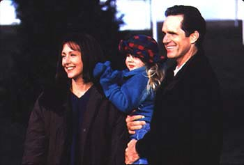 Cynthia Stevenson , Alyson MacLaren and Gregory Harrison in Air Bud: Golden Receiver