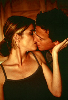 Body Shots Amanda Peet and Sean Patrick Flanery in  - 10/99