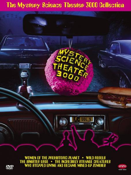 Mystery Science Theater 3000 : The Movie cover artwork