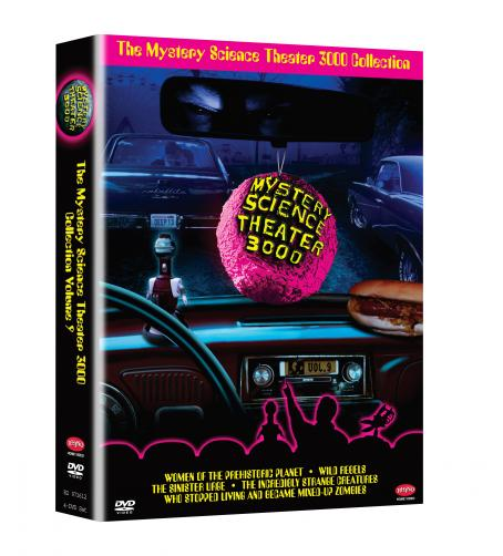 Mystery Science Theater 3000 : The Movie Disc Box