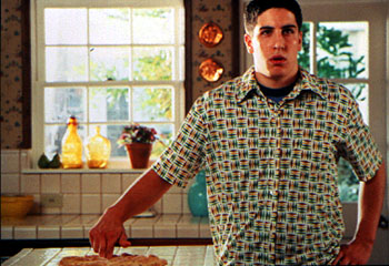 American Pie Jason Biggs gets the wrong idea about a fresh-baked pie in Universal's  - 1999