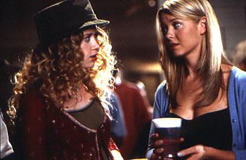 American Pie Natasha Lyonne gives Tara Reid advice about men in Universal's  - 1999