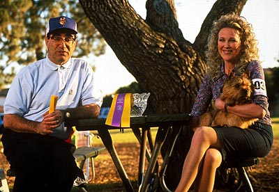 Best in Show In Fern City, Florida, mild-mannered menswear salesman Gerry Fleck (Eugene Levy) and his vivacious wife, Cookie (Catherine O'Hara), happily prepare their Norwich Terrier, Winky, for the most important show of his competitive career in Castle Rock'