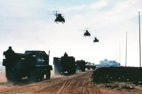 Black Hawk Down A fleet of Black Hawks launches for their mission in Columbia's  - 2001